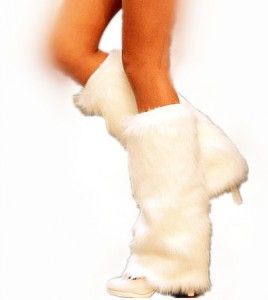 White Leg Warmer Discount Coupon!