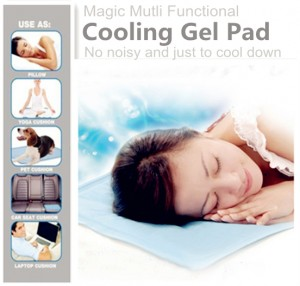 Cooling Pillow Pads