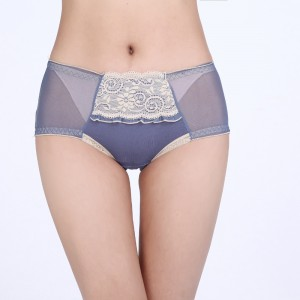 Model Underwear With Front Protect Layer - Blue
