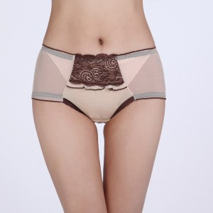 Model Underwear With Front Protect Layer - Flesh